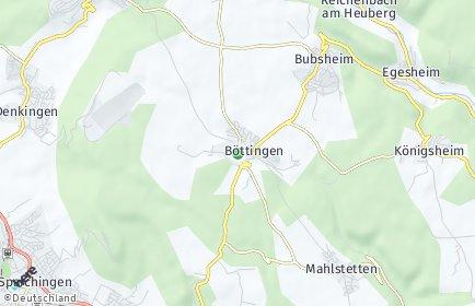 Stadtplan Böttingen