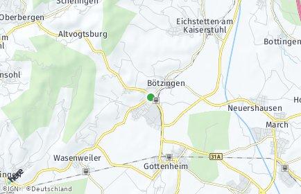 Stadtplan Bötzingen