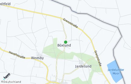 Stadtplan Böxlund
