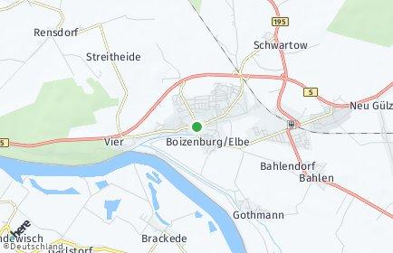 Stadtplan Boizenburg/Elbe