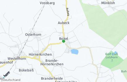 Stadtplan Bokel bei Elmshorn