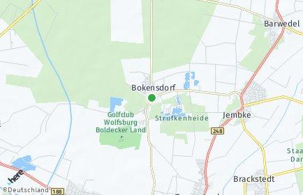 Stadtplan Bokensdorf