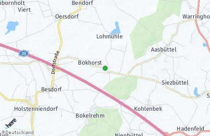 Stadtplan Bokhorst