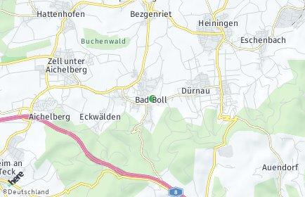 Stadtplan Bad Boll