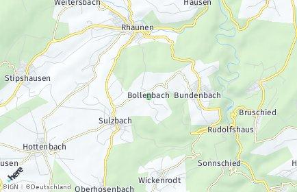 Stadtplan Bollenbach