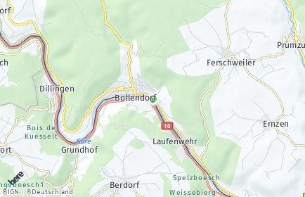 Stadtplan Bollendorf