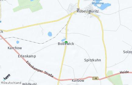 Stadtplan Bollewick