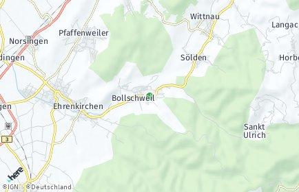Stadtplan Bollschweil