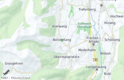 Stadtplan Bolsterlang