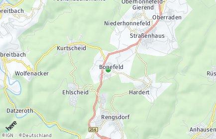 Stadtplan Bonefeld