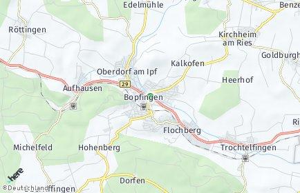 Stadtplan Bopfingen
