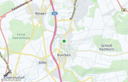 Stadtplan Borchen