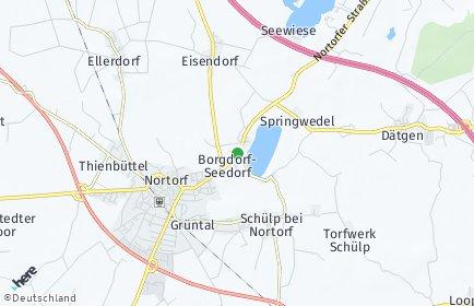 Stadtplan Borgdorf-Seedorf