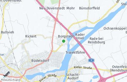 Stadtplan Borgstedt