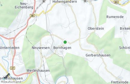 Stadtplan Bornhagen