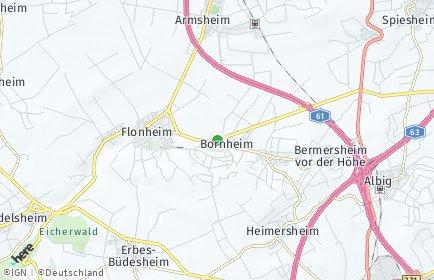 Stadtplan Bornheim (Rheinhessen)