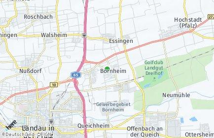 Stadtplan Bornheim (Pfalz)