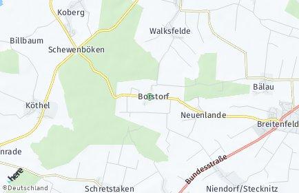 Stadtplan Borstorf