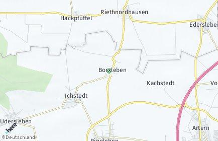 Stadtplan Borxleben