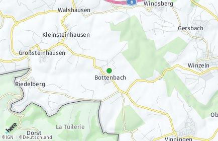 Stadtplan Bottenbach