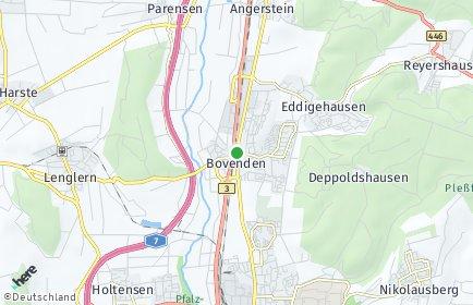 Stadtplan Bovenden