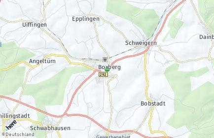 Stadtplan Boxberg (Baden)