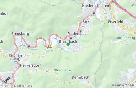 Stadtplan Brachbach
