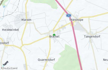 Stadtplan Brackel