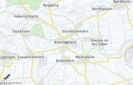Stadtplan Brackenheim