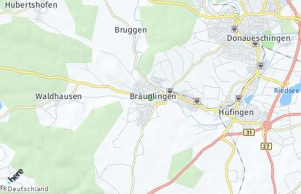 Stadtplan Bräunlingen