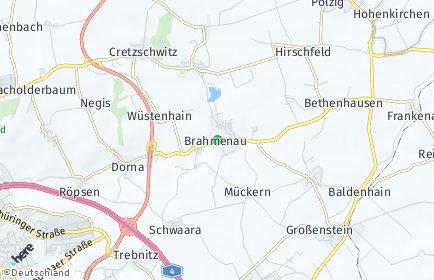 Stadtplan Brahmenau