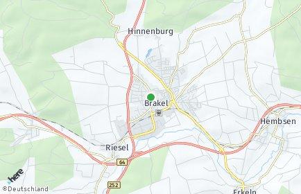 Stadtplan Brakel