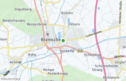 Stadtplan Bramsche