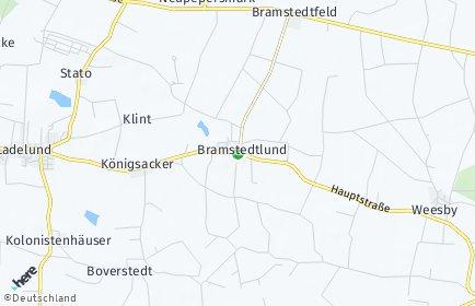 Stadtplan Bramstedtlund