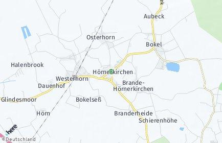 Stadtplan Brande-Hörnerkirchen
