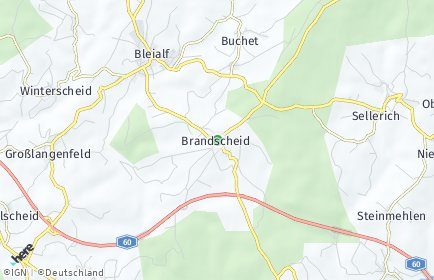 Stadtplan Brandscheid (Eifel)
