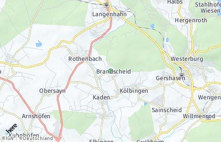 Stadtplan Brandscheid (Westerwald)