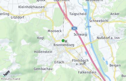 Stadtplan Brannenburg
