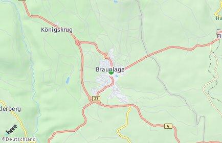 Stadtplan Braunlage