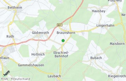 Stadtplan Braunshorn