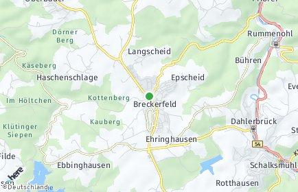Stadtplan Breckerfeld