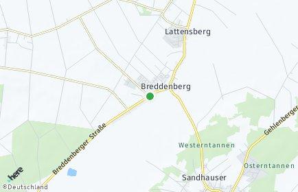 Stadtplan Breddenberg
