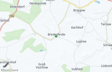 Stadtplan Bredenfelde