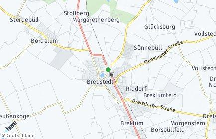 Stadtplan Bredstedt