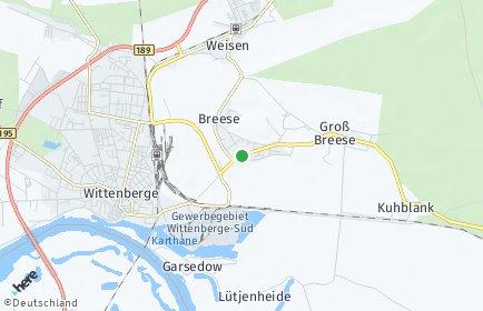 Stadtplan Breese