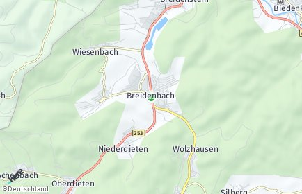 Stadtplan Breidenbach OT Wiesenbach