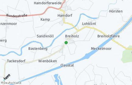 Stadtplan Breiholz