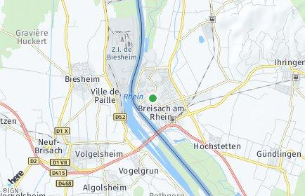 Stadtplan Breisach am Rhein