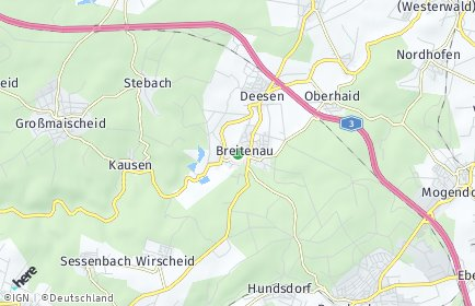 Stadtplan Breitenau