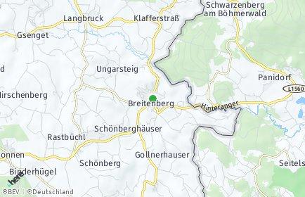 Stadtplan Breitenberg (Niederbayern)